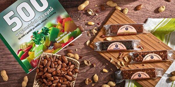Balenie raw tyčiniek z ČR: vegánske, bez cukru a lepku