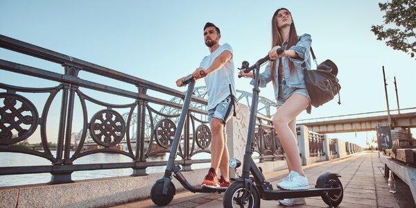 Požičanie mestskej či elektrickej kolobežky alebo e-bicykla