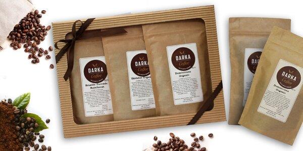 Darčekové degustačné balíčky výberových káv