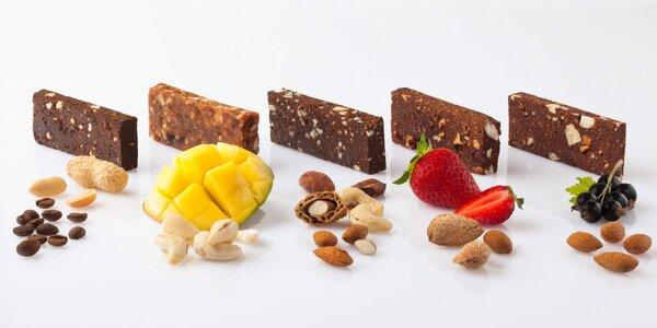 Skutočne chutné proteínové tyčinky s kávovými zrnami