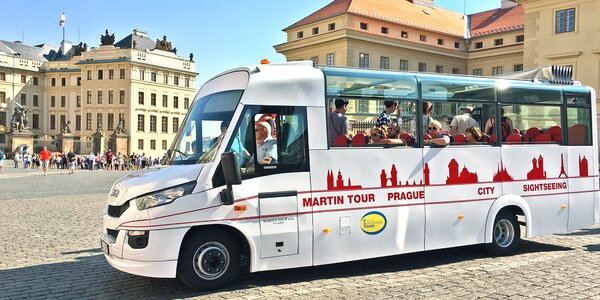 Pražské okruhy autobusom i loďou pre každého!
