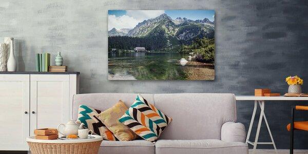 Originálny fotoobraz na kvalitnom prémiovom bavlnenom plátne s dreveným rámom