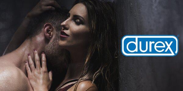 Balíčky Durex: gély, kondómy i vibrátory