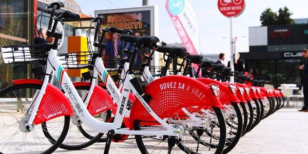 Požičajte si bicykel či skúter cez appku ANTIK