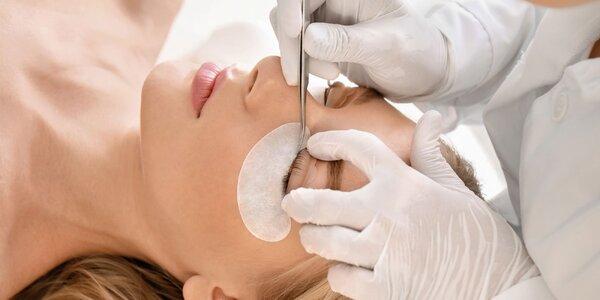 Čistenie pleti s masážou alebo predĺženie mihalníc