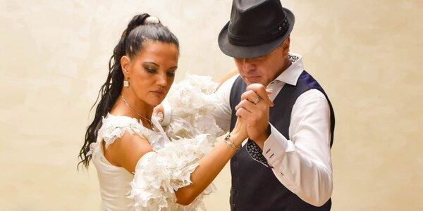 Na mieru ušitý svadobný tanec v latino štýle