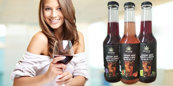 Osviežte sa lahodnými nápojmi s konopou!