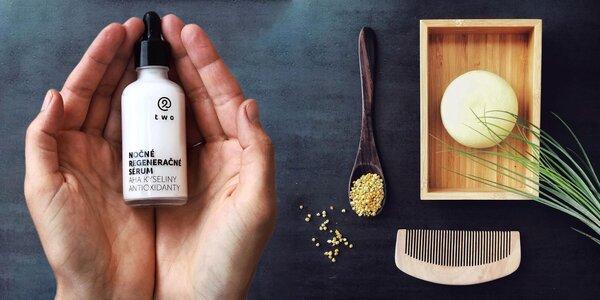 100 % prírodné kozmetické produkty pre zdravé vlasy a pleť
