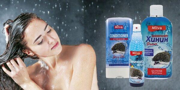 Balíčky kvalitnej vlasovej kozmetiky Milva