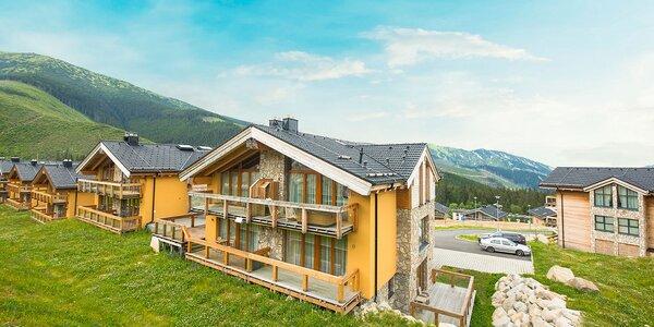 Luxusné Chalety v Nízkych Tatrách s apartmánmi aj so saunou