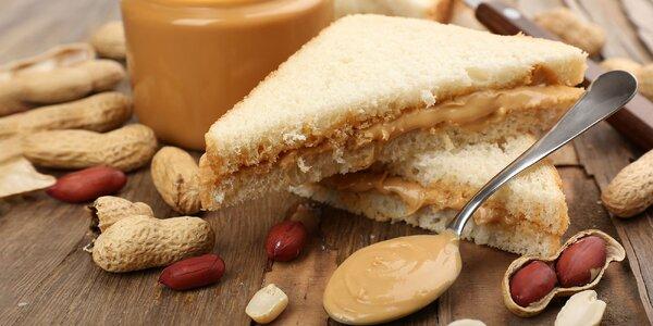 1 kg arašidového masla: prírodné i s čokoládou