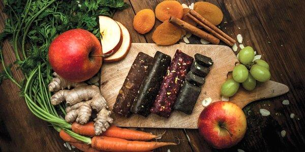 Chuťou a zdravím nabité tyčinky Happylife