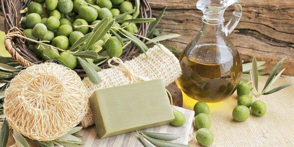 Grécka olivová starostlivosť: tuhé, penové aj tekuté mydlá