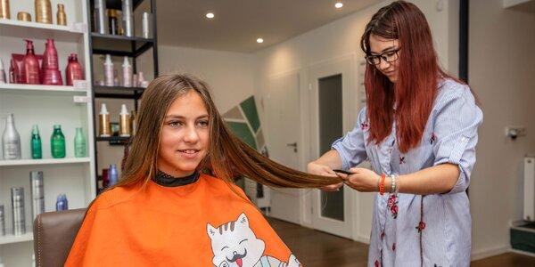 Strih vlasov pre celú rodinu či vlasová kúra Pro Longer