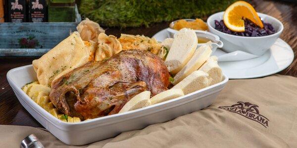 Pečená kačica alebo 50 € voucher do reštaurácie Kozia brána