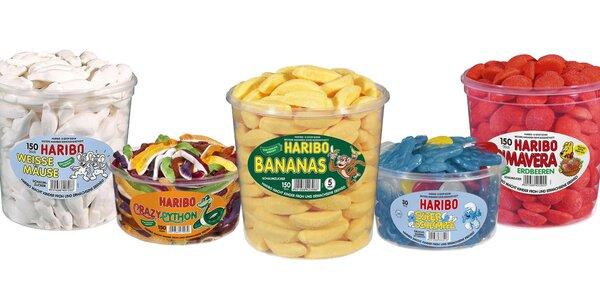Ovocné želé Haribo: 16 druhov obľúbených maškŕt