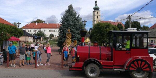 Kam s deťmi v okolí Nového Mesta nad Váhom? Vláčik na Čachtický hrad, vrch Plešivec a ďalšie tipy