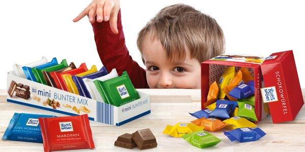 Sladká chvíľa: balíčky čokolád Ritter Sport
