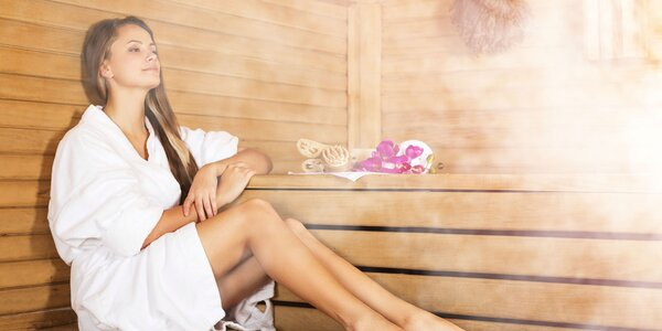 Masáž chrbta a krku + pobyt v saunovom svete