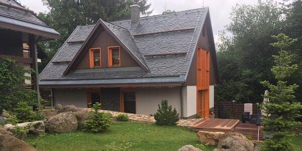 Čarovná jeseň v luxusnej vile pri Kremnických vrchoch