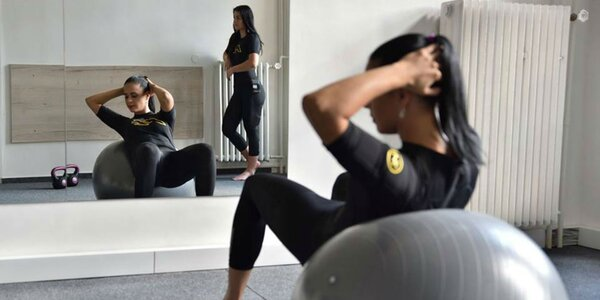 30 min. NT1 cvičenie s trénerom=100 min. Kardio