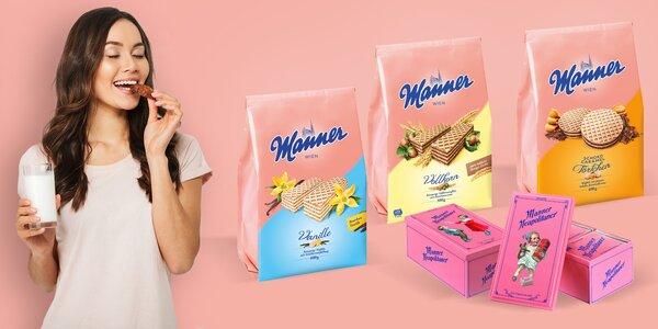Sušienky i oplátky Manner: 14 sladkých variantov