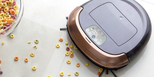 Robotický vysavač Omega s navigačným systémom