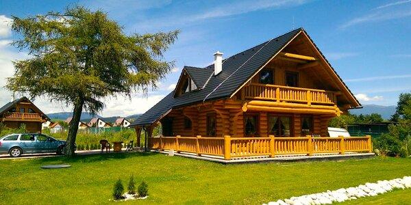 Oddych v zrubovej drevenici pri Liptovskej Mare: