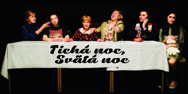 Vstup na predstavenie komédie TICHÁ NOC, SVÄTÁ NOC - 8. 1. 2021