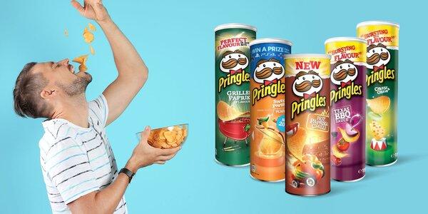 Balenia čipsov Pringles až v 10 príchutiach