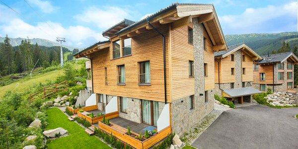 Luxusné apartmány v horských Chaletoch so saunou v Nízkych Tatrách