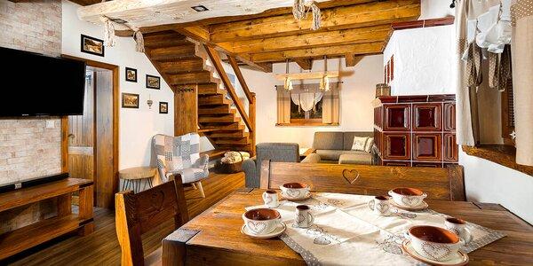 Pobyt pre 5 až 7 osôb v luxusných apartmánoch na Kubínskej holi