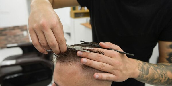 Štýlový strih, čistenie pleti a úprava brady!