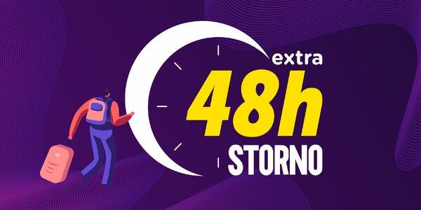 Objavte extra 48 hodinové storno pri pobytoch
