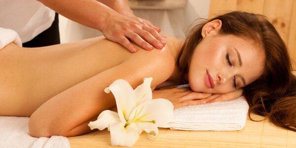 Klasická masáž chrbta - rôzne výhodné balíčky