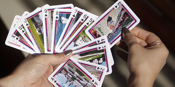 Hracie karty s najkrajšími slovenskými pamiatkami