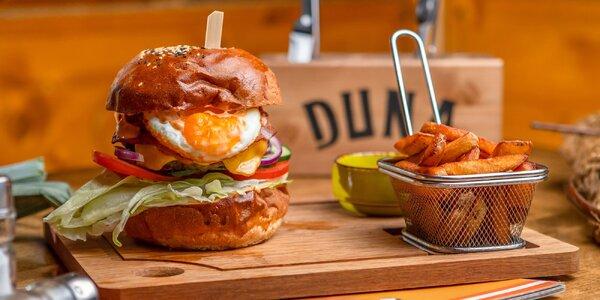 5 druhov peckových burgerov v novom Duna Pube