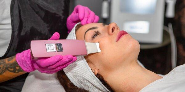 Hĺbkové ošetrenia tváre kolagénovými prípravkami