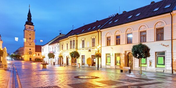 Neodolateľný pobyt v historickom centre Trnavy