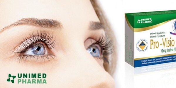 Kvapky a tabletky pre dokonalý zrak