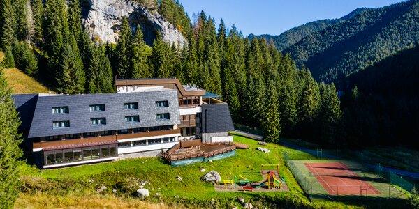 Relax v horskom prostredí Jasnej vo Wellness Hoteli Repiská***