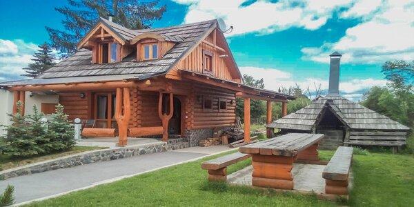 Pobyt v rozprávkovej drevenici vo Vysokých Tatrách