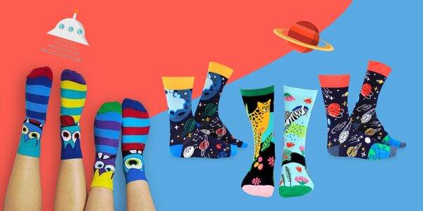 Darčekové balenia veselých ponožiek pre každého
