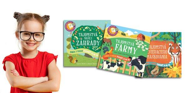 Posvieť si na to! Detské knihy plné objavov