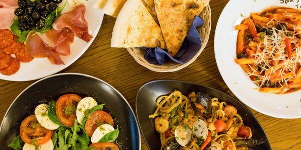 2-chodová večera all'Italiana od šéfkuchára Giuseppeho