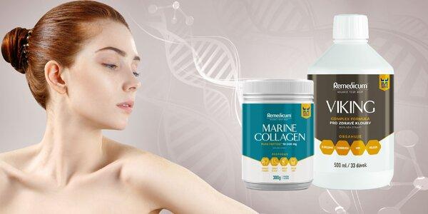 Rybí kolagén na podporu kĺbov a omladenie pleti