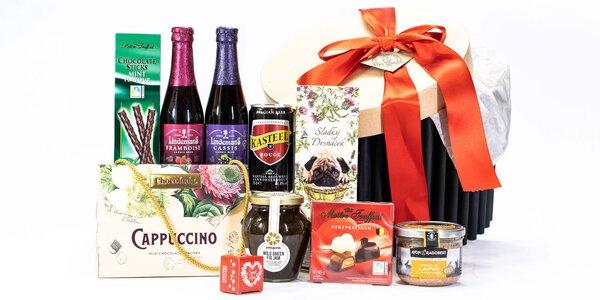 Darčekové sady svetových pivných špecialít a delikates