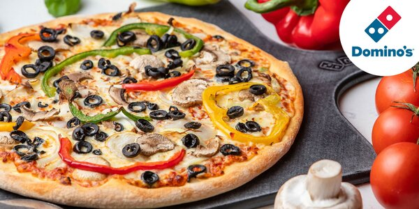 Voucher na druhú pizzu v Domino´s iba za 1 €! - osobný odber