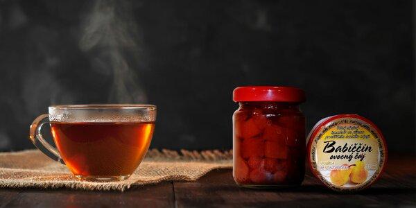 Balenia pečených ovocných čajov