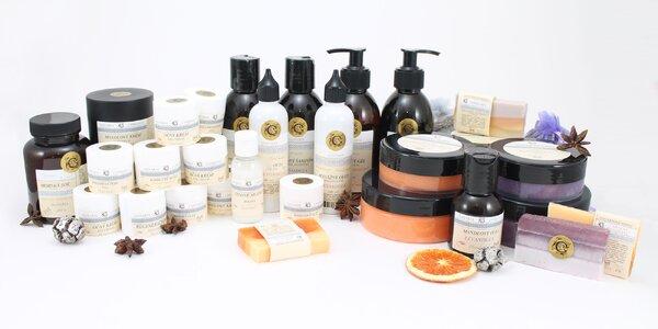 Kazety levanduľovej či pomarančovej kozmetiky